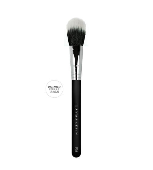 Pincel Duo Fiber Chato Pequeno - Daymakeup