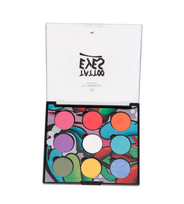 Paleta de Sombras Tattoo Eyes